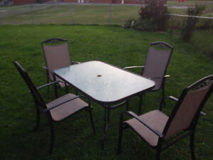 5-Piece Patio Dining Set