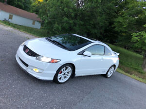 Honda Civic SI bas millage