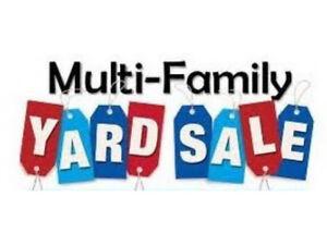 Multi-Family Yard Sale! Sunday Sept 23! New Stuff...