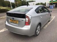 """Toyota Prius 1.8 2013(62) Hybrid """"FRESH PCO READY"""" (BIMTA CERTIFIED MILEAGE)"""