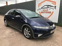 HONDA CIVIC 2.2 I CTDI EX DIESEL PAN ROOF SAT NAVIGATION
