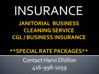 INSURANCE for your Cleaning or Janitorial Business - Great Rates