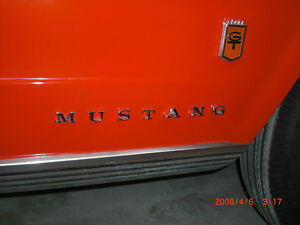 1966 Ford Mustang GT script and gas cap Kitchener / Waterloo Kitchener Area image 1