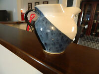 Handcrafted pottery jug