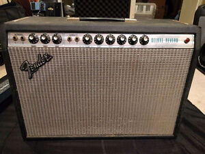 SilverFace Fender Deluxe Reverb. All original & fully serviced.