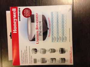 Honeywell universal replacement pre-filter
