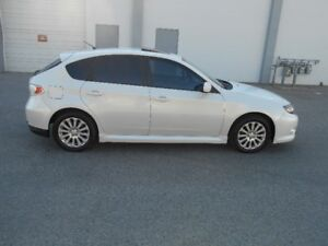 2009 Subaru Impreza AWD 5 Speed 101000KMS  Certified Hatchback