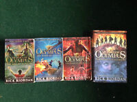 The Heros of Olympus books (missing 1st in series)