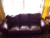Leather Couche  and Loveseat for sale