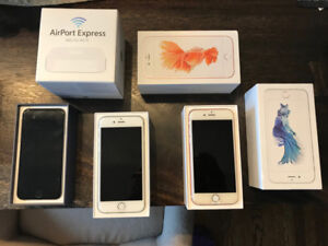 Apple iPhones and AirPort Express