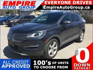 2015 LINCOLN MKC 2.0 * AWD * LEATHER * REAR CAM * HEATED SEATS *