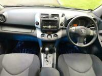 TOYOTA RAV 2.0 VVT-i XT-R 5 DOOR SUV 4X4 BLACK PETROL AUTOMATIC WITH FSH
