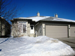 Walk out Bungalow 55+ Condo in Fort Saskatchewan