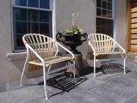 2 Mid Century Patio Chairs