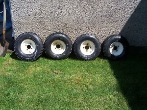 Set of 4 loadstar 5.70-8 tires