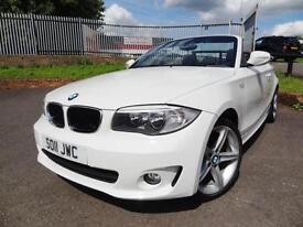 2011 BMW 118 2.0TD Sport Convertible Cabriolet - ONLY 41000MLS - KMT Cars
