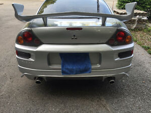 2003 Mitsubishi Eclipse GTS Coupe (2 door) E-TESTED OBO