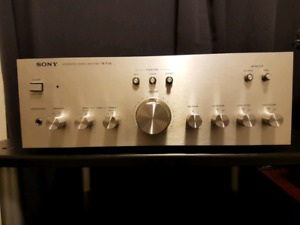 Vintage Sony TA-F3A integrated amplifier