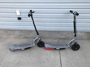 2 E125 Electric Scooters For Sale