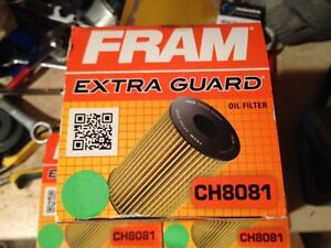 Fram CH8081 Oil Filters x3 for BMW and Mercedes Benz