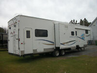 FIFTH-WHEEL GARAGE KZ NEW-VISION SPORTSTER 36KX2 2004