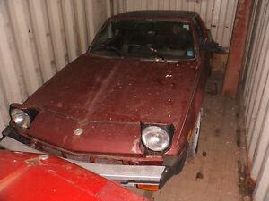 Fiat X19 parts car