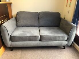 DFS AURORA 3 SEATER SOFA - GRAPHITE GREY