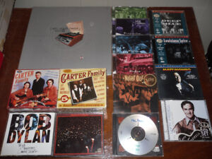 CDs for sale - blues, rock, jazz, Americana - box sets