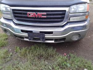 2003-2006 GMC Sierra bumper,doors,grill,and lights