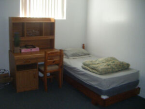 Big , bright, furnished room on the first floor available