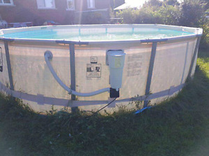 Pro Series Metal Frame Pool