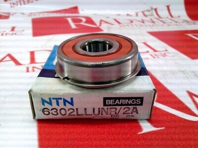 Ntn Bearing 6302-llu-nr2a 6302llunr2a New In Box