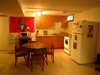 Renovated, clean and quite bachelor apartment in basement home