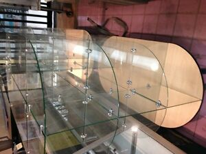 6FT GLASS DISPLAY CASE
