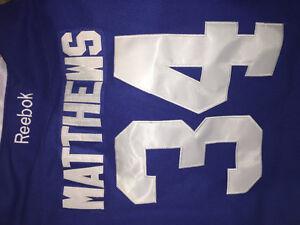 #34 MATTHEWS Toronto Maple Leafs Jersey XL New Cambridge Kitchener Area image 2