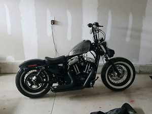 Hard candy chrome sportster 48 with extended warranty 2022