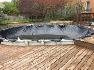 12x24 Oval Above Ground Pool