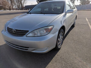2004 toyota camry LE low kms Remote Start