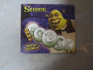 For Sale: Shrek Coin Set $10 London Ontario image 1