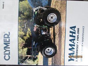 Yamaha Timberwolf ATV Service Repair Maintenance Manual Clymer