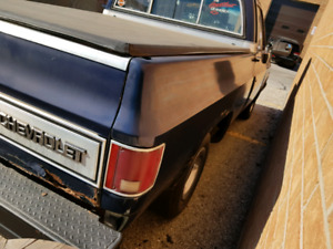 1986 Chevrolet Short Box and Tailgate