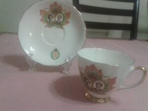 Royal Visit Cup and Saucer