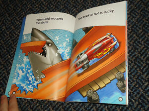 Scholastic Reader Level 1: Hot Wheels: Shark Attack Paperback Kingston Kingston Area image 4