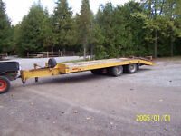 1988 Eagar Beaver 20 ton tandem dual wheel float