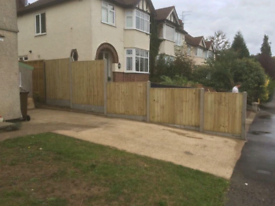 Builder landscaper gardener fencer fencing groundwork carpenter