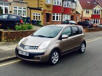 Nissan Note 1.6 Automatic, Long MOT, Full Service History, Super Low Mileage, Only 1 Former Keeper
