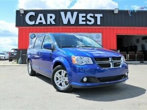 2018 Dodge Grand Caravan Crew LOADED w/ LEATHER, NAV + MORE