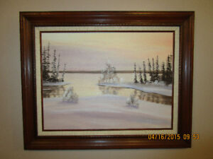 Collectable oil painting