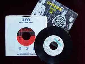 Genesis / Gabriel, Three 45 Vinyl Records for One Low Price Cambridge Kitchener Area image 1