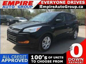 2014 FORD ESCAPE S * REAR VIEW CAMERA * BLUETOOTH * POWER GROUP